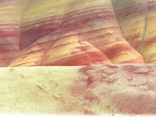 John Day Fossil Beds National Monument: Painted Hills Unit