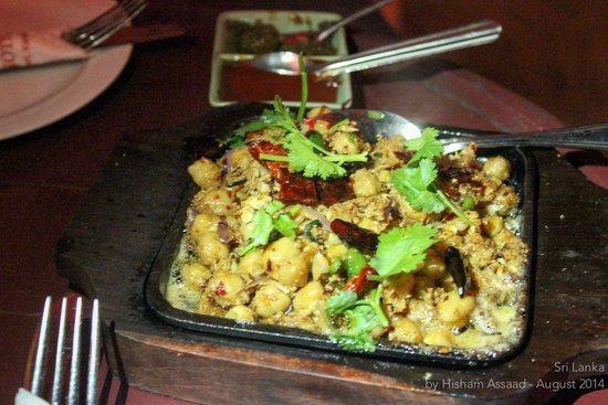 Royal Bar & Hotel: Chickpeas chinese way