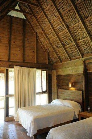 Hotel Chichaki: Interiores Cabañas