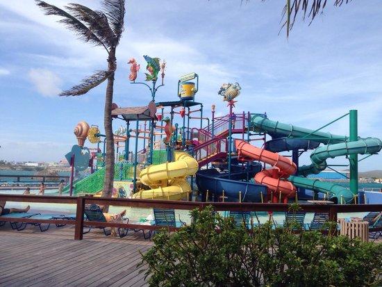 De Palm Island: Paraue aquático