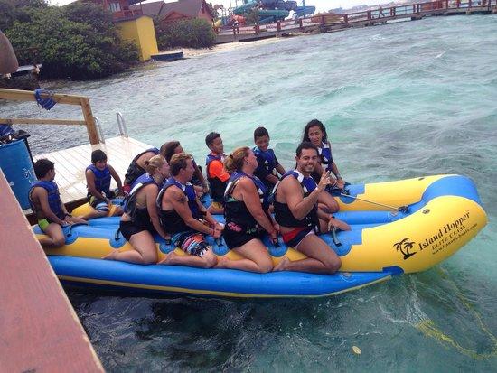 De Palm Island: Banana boat