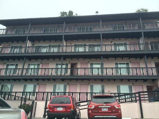 Hofsas House Hotel: Fachada do hotel (Parte de trás)