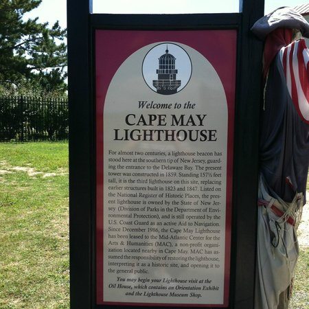 Cape May Lighthouse : Welcome