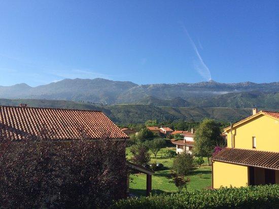 Hotel La Boriza: Vistas desde la habitzción
