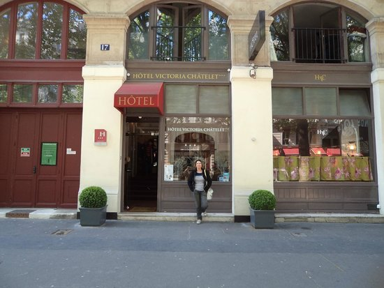 Hotel Victoria Chatelet: Hotel bacana