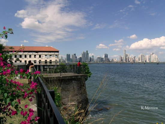 Casco Viejo: View of skyline from the Old City