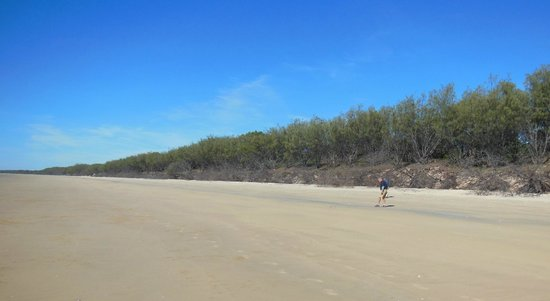 Woodgate Beach: Isolated.