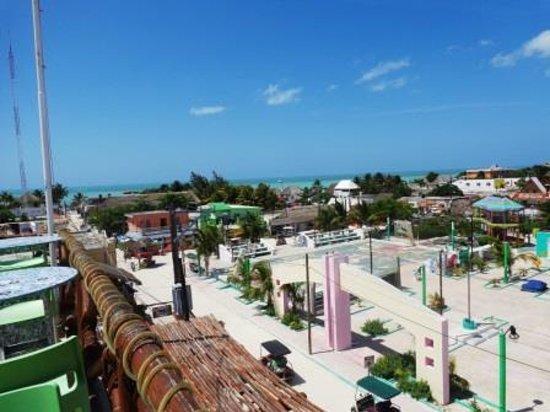 Vista desde la terraza del hotel Arena