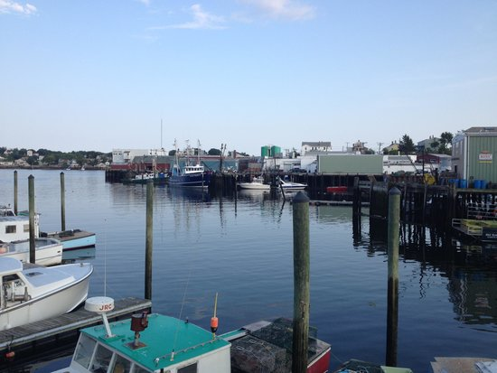 Tugboat Inn: view from the property