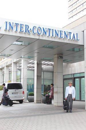InterContinental Frankfurt: 玄関口