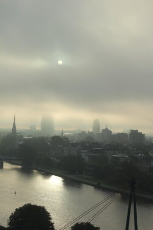 InterContinental Frankfurt: 部屋からの朝