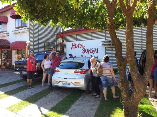Hotel Pousada Bonsai: Frente