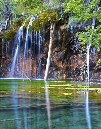 Hanging Lake: Another morning view