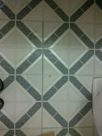 Rodeway Inn Capri: stain was all over the bathroom floor