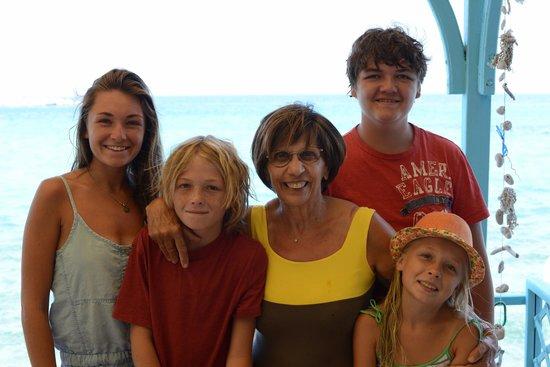 Poseidon Hotel Kokkari Samos Greece: Spyros mom was a fabulous cook and so gracious!