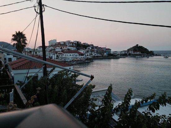 Poseidon Hotel Kokkari Samos Greece: View from the balcony