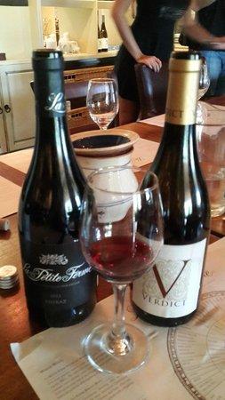 La Petite Ferme : great wine in the tasting