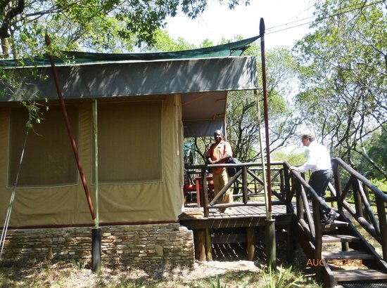 Fairmont Mara Safari Club : our tent