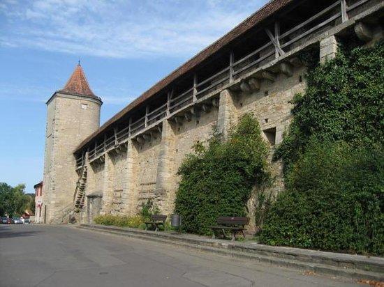 Town Walls : Rothenburg wall