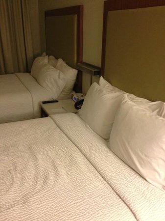 SpringHill Suites Phoenix Downtown : Very Comfortable Bed