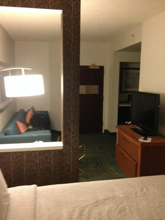 SpringHill Suites Phoenix Downtown : Very Spacious Room
