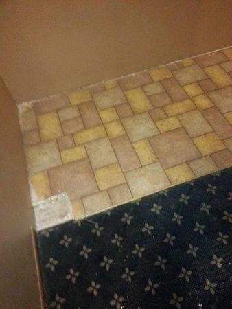 Alexis Park Inn & Suites: area in hallway/stairway down from room