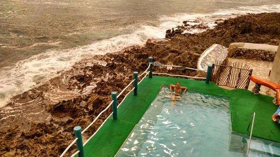 Punta Sur: piscina