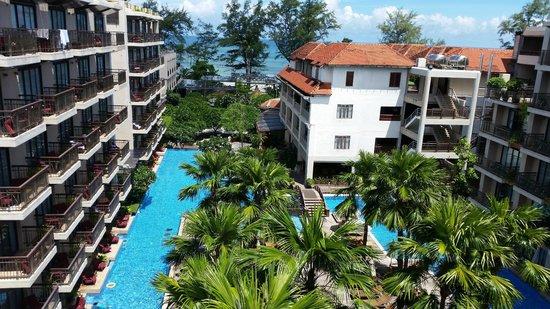 Baan Laimai Beach Resort : Our Beautiful View