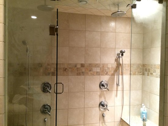 Ethereal Day Spa and Salon: Shower in the massage room!!