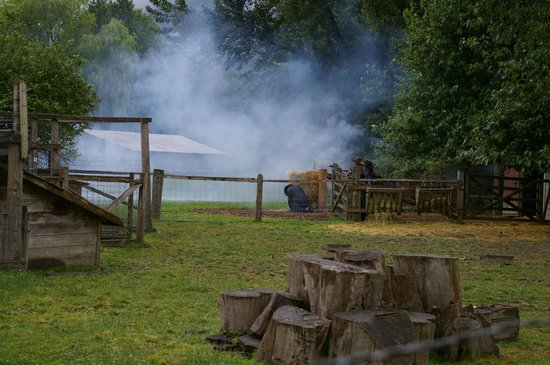 "Kilby Historic Site: Black Powder day after the ""shoot -out"""