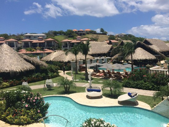 Pink Gin Beach, Grenada: View