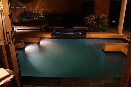 Banyan Tree Mayakoba: Pool at Night