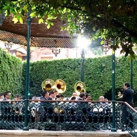 Jardin de la Union : Orquesta