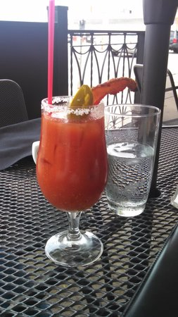 The Green Gateau : Bacon Bloody Mary