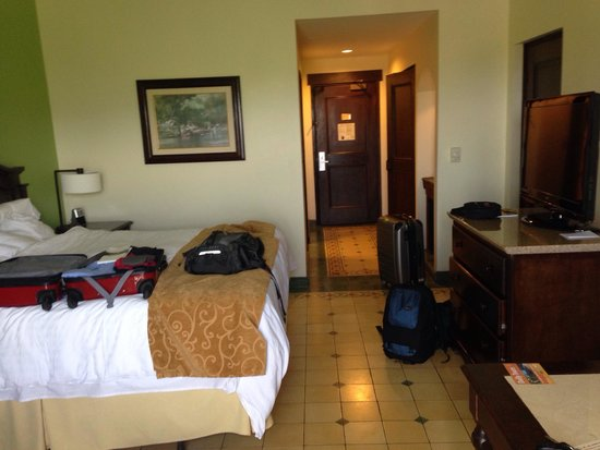Los Suenos Marriott Ocean & Golf Resort: Inside room