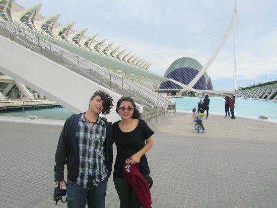 Valenciaflats Ciudad de las Ciencias: Arquitectura