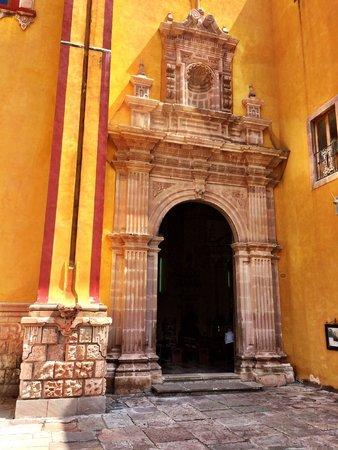 Basilica of Our Lady of Guanajuato: La puerta