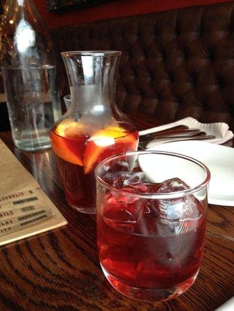 Tequila Mockingbird: Sangria pitcher