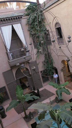 Riad Noir d'Ivoire: One of two courtyards