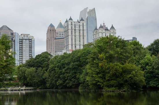 Piedmont Park: View from the park