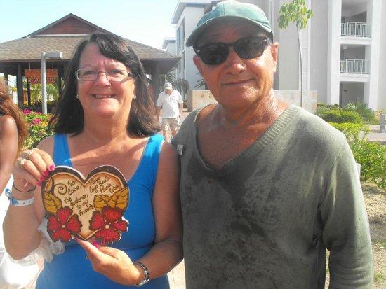 Hotel Playa Cayo Santa Maria : lovely man Cobo!!!
