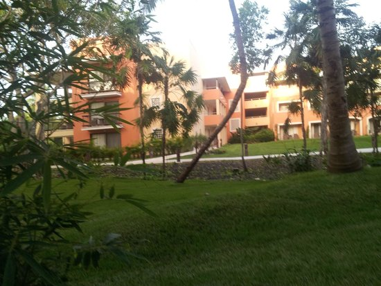 Barcelo Maya Beach: View from our patio