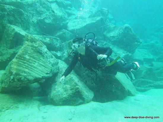 Deep Blue Diving Base: .