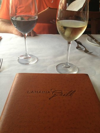 Lahaina Grill: yummy wine options