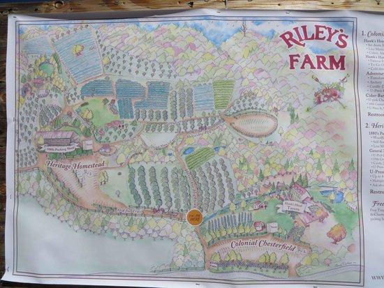 Riley's Farm: Map
