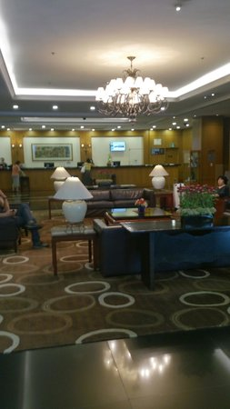 Novotel Seoul Ambassador Gangnam: Reception