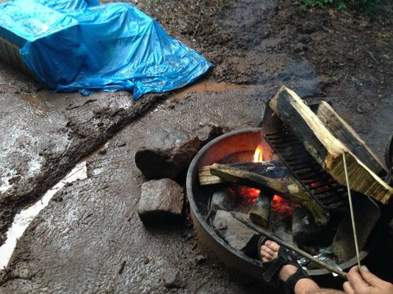 French Creek State Park : Fire pit
