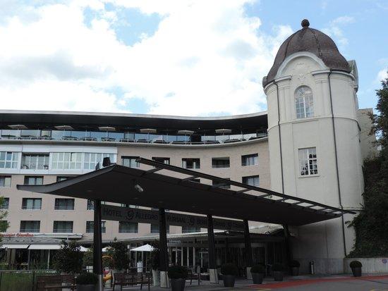 Hotel Allegro Bern: Fachada do hotel