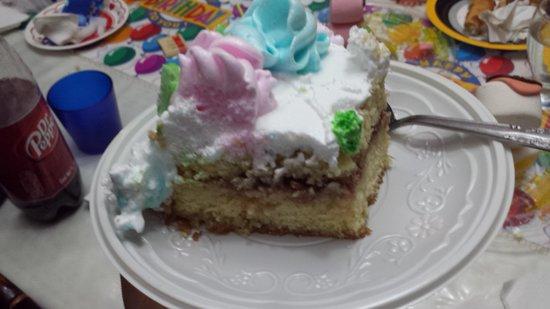 piece of Sanborns cake