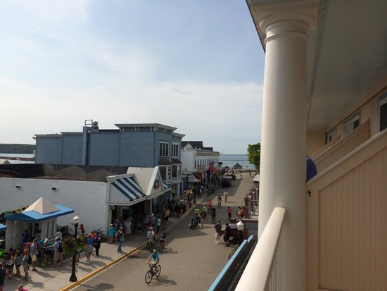 Bicycle Street Inn & Suites and Waterfront Collection: our view